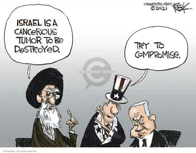 Chip Bok  Chip Bok's Editorial Cartoons 2021-05-25 Iran
