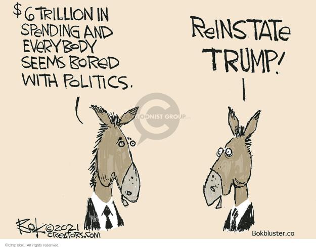 Chip Bok  Chip Bok's Editorial Cartoons 2021-06-02 presidential administration