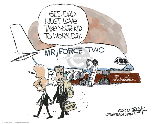 Chip Bok  Chip Bok's Editorial Cartoons 2021-06-08 presidential administration