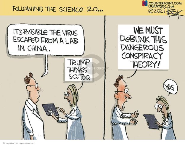 Chip Bok  Chip Bok's Editorial Cartoons 2021-06-15 viral