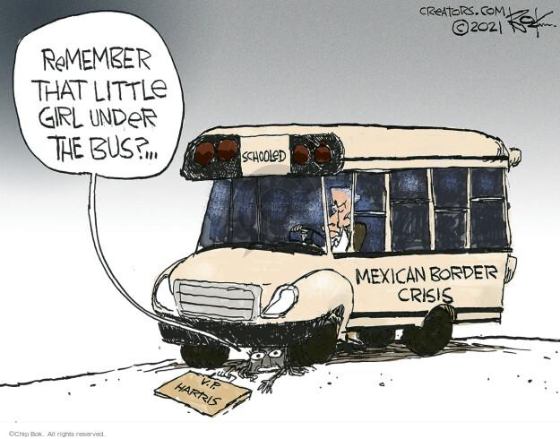 Chip Bok  Chip Bok's Editorial Cartoons 2021-06-16 presidential administration