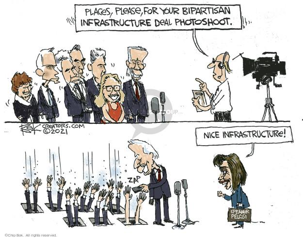 Chip Bok  Chip Bok's Editorial Cartoons 2021-06-27 federal budget