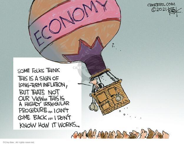 Chip Bok  Chip Bok's Editorial Cartoons 2021-07-20 presidential administration