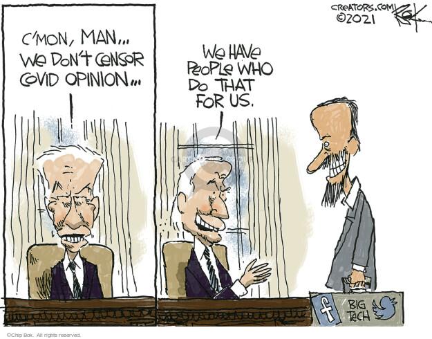 Chip Bok  Chip Bok's Editorial Cartoons 2021-07-21 media