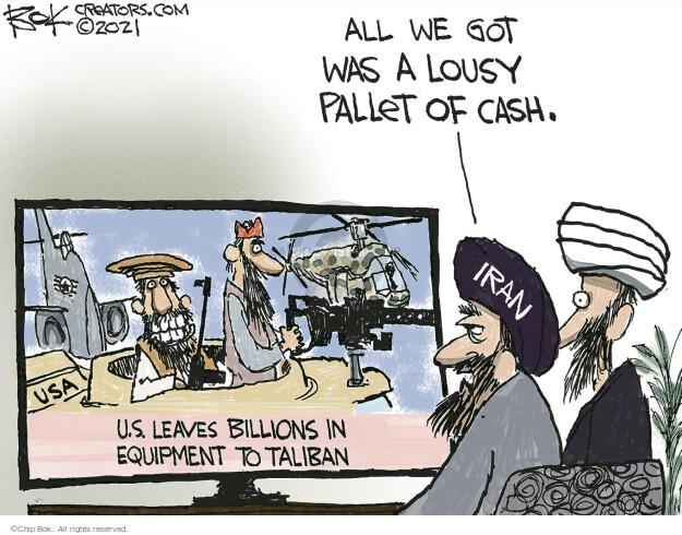Chip Bok  Chip Bok's Editorial Cartoons 2021-09-03 editorial