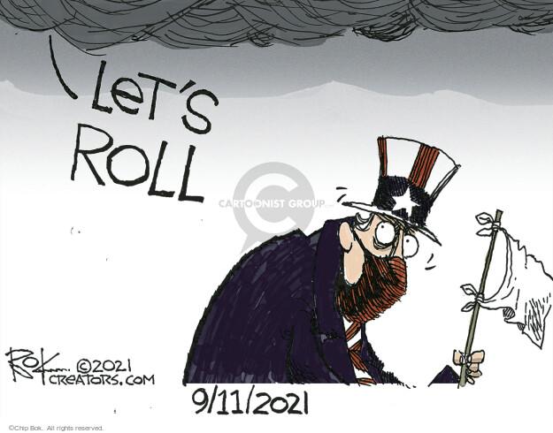 Chip Bok  Chip Bok's Editorial Cartoons 2021-09-11 2001