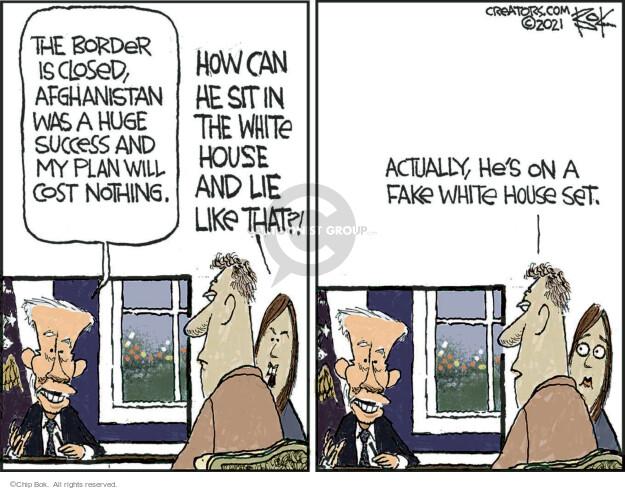 Chip Bok  Chip Bok's Editorial Cartoons 2021-10-09 politics