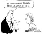 Cartoonist Chip Bok  Chip Bok's Editorial Cartoons 2005-03-28 statistical