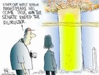 Cartoonist Chip Bok  Chip Bok's Editorial Cartoons 2005-05-03 nuclear bomb