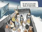 Cartoonist Chip Bok  Chip Bok's Editorial Cartoons 2004-06-06 hit