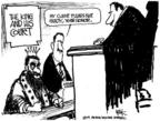 Cartoonist Chip Bok  Chip Bok's Editorial Cartoons 2004-07-06 courtroom
