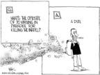 Cartoonist Chip Bok  Chip Bok's Editorial Cartoons 2005-07-25 fail