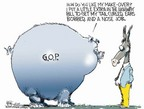 Cartoonist Chip Bok  Chip Bok's Editorial Cartoons 2005-08-11 governmental