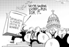 Cartoonist Chip Bok  Chip Bok's Editorial Cartoons 2005-09-05 governmental