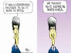 Cartoonist Chip Bok  Chip Bok's Editorial Cartoons 2004-10-05 North Korea