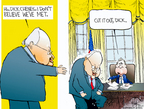 Cartoonist Chip Bok  Chip Bok's Editorial Cartoons 2004-10-07 presidential candidate