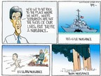 Cartoonist Chip Bok  Chip Bok's Editorial Cartoons 2004-10-13 presidential candidate