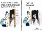 Cartoonist Chip Bok  Chip Bok's Editorial Cartoons 2005-09-12 New Orleans