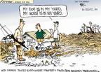 Cartoonist Chip Bok  Chip Bok's Editorial Cartoons 2005-09-14 New Orleans