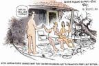 Cartoonist Chip Bok  Chip Bok's Editorial Cartoons 2005-09-17 New Orleans