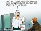 Cartoonist Chip Bok  Chip Bok's Editorial Cartoons 2005-10-18 punch in
