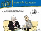 Chip Bok  Chip Bok's Editorial Cartoons 2006-01-11 700 club