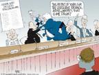 Cartoonist Chip Bok  Chip Bok's Editorial Cartoons 2006-01-12 federal court