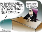 Cartoonist Chip Bok  Chip Bok's Editorial Cartoons 2006-01-31 courtroom