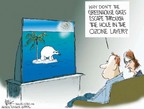 Cartoonist Chip Bok  Chip Bok's Editorial Cartoons 2006-04-04 global warming