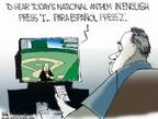 Cartoonist Chip Bok  Chip Bok's Editorial Cartoons 2006-05-03 television