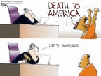 Cartoonist Chip Bok  Chip Bok's Editorial Cartoons 2006-05-05 courtroom