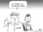 Cartoonist Chip Bok  Chip Bok's Editorial Cartoons 2006-06-26 North Korea