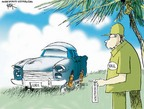 Cartoonist Chip Bok  Chip Bok's Editorial Cartoons 2006-08-03 communist