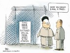 Cartoonist Chip Bok  Chip Bok's Editorial Cartoons 2006-10-09 Kim Il-Sung