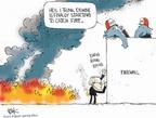 Cartoonist Chip Bok  Chip Bok's Editorial Cartoons 2006-10-17 catch