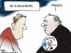 Cartoonist Chip Bok  Chip Bok's Editorial Cartoons 2006-10-24 presidential candidate