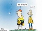 Cartoonist Chip Bok  Chip Bok's Editorial Cartoons 2007-01-09 climate