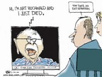 Cartoonist Chip Bok  Chip Bok's Editorial Cartoons 2007-01-22 tribute