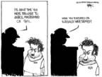 Cartoonist Chip Bok  Chip Bok's Editorial Cartoons 2007-04-03 2001