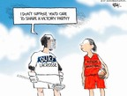 Cartoonist Chip Bok  Chip Bok's Editorial Cartoons 2007-04-16 victory