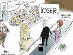 Cartoonist Chip Bok  Chip Bok's Editorial Cartoons 2007-04-30 loser