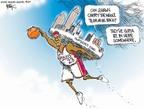 Cartoonist Chip Bok  Chip Bok's Editorial Cartoons 2007-06-07 basketball player