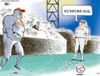 Cartoonist Chip Bok  Chip Bok's Editorial Cartoons 2007-08-09 baseball game