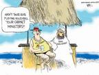 Cartoonist Chip Bok  Chip Bok's Editorial Cartoons 2007-08-15 summer vacation