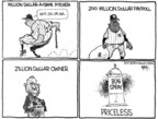 Cartoonist Chip Bok  Chip Bok's Editorial Cartoons 2007-10-01 baseball game