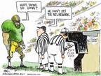 Cartoonist Chip Bok  Chip Bok's Editorial Cartoons 2007-12-03 sports television