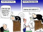 Cartoonist Chip Bok  Chip Bok's Editorial Cartoons 2008-05-16 courtroom