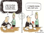 Cartoonist Chip Bok  Chip Bok's Editorial Cartoons 2008-05-28 gas