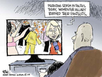 Cartoonist Chip Bok  Chip Bok's Editorial Cartoons 2008-06-13 race