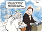 Cartoonist Chip Bok  Chip Bok's Editorial Cartoons 2008-06-17 saint